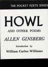 Allen Ginsberg - Howl, and other poems