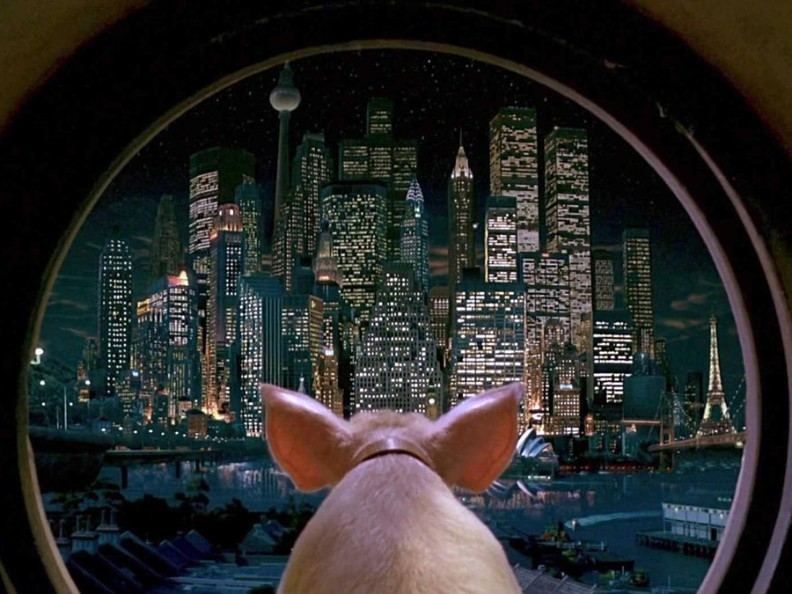 bekijk Babe: Pig in the City in de agenda