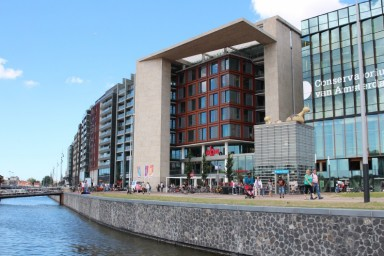 Oba oosterdok the central library for Bibliotheek amsterdam